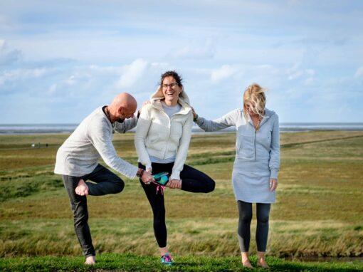 yoga op de dijk
